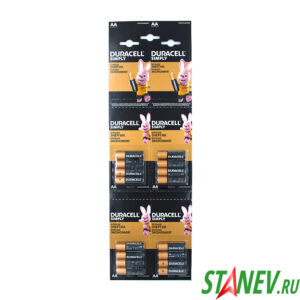 Батарейка Дюраселл Alkaline 4-АА блистер 48-192