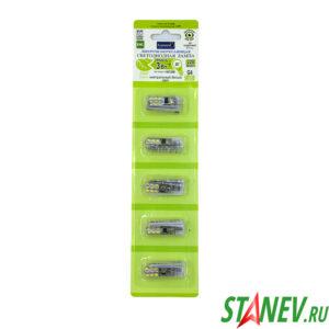 Лампа светодиодная мини G4 220В 3Вт 4500K естественный белый свет General 5-100