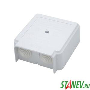 Коробка монтажная КМ-268 (111*100*43,5) для подключения электроплит 1-24