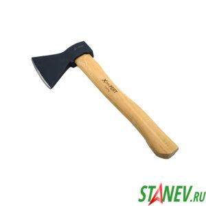 Топор для дров 1 кг деревянная рукоять 38см X-PERT 6-24