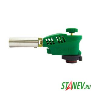 Горелка газовая с пьезоподжигом Гп3-1005 Kovica зеленая Корея 10-100