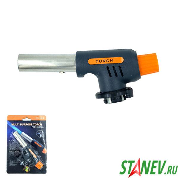 Горелка газовая с пьезоподжигом WS-502C Torch 10-100