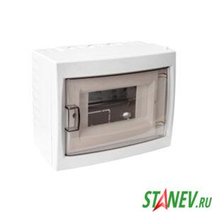 BYLECTRICA Бокс распределительный КНО-6Д наружной установки настенный на 6 автоматов IP20 1-16