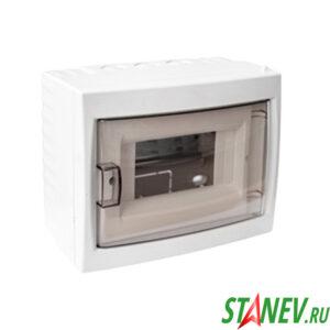 BYLECTRICA Бокс распределительный КНО-8Д наружной установки настенный на 8 автоматов IP20 1-15