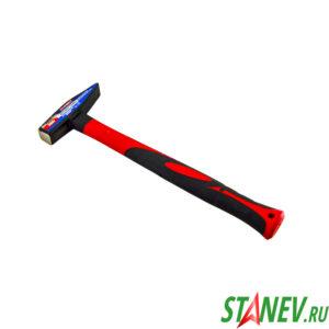 Молоток слесарный 300 гр обрезиненная ручка X-PERT 1-6