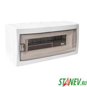 BYLECTRICA Бокс распределительный КНО-12Д наружной установки навесной на 12 автоматов IP20 1-12