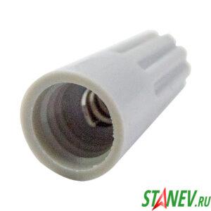 Соединительный изолирующий наконечник винтовой СИЗ 1мм - 3мм Р1 серый 100 шт 1-500