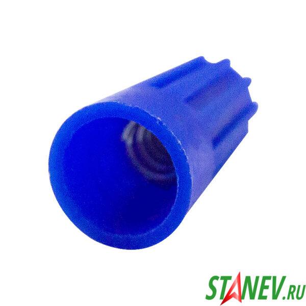 Соединительный изолирующий наконечник винтовой СИЗ 1мм - 4.5мм Р2 синий 100 шт 1-200