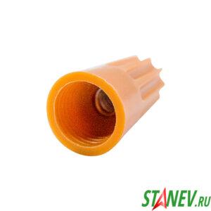 Соединительный изолирующий наконечник винтовой СИЗ 1.5мм - 6мм Р3 оранжевый 100 шт 1-150
