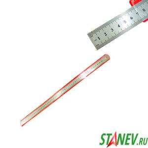 Линейка металлическая 500 мм в чехле 24-400