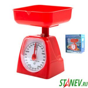 Весы механические с чашей 5кг Kitchen Scale 1-24
