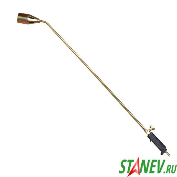 Кровельная газовоздушная горелка ГВ-100см с регулятором 2-50
