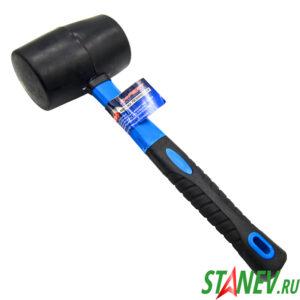 Киянка резиновая пластиковая ручка 1000 гр X-PERT 6-36