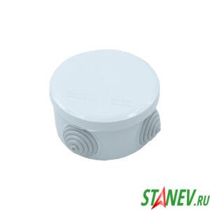 ОП Коробка распределительная Круглая открытой установки d70х40мм IP55 PlastElectro 10-160