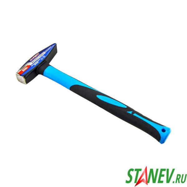 Молоток слесарный 500 гр обрезиненная ручка X-PERT 1-6