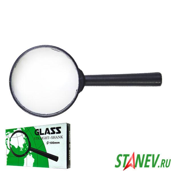 Ручная лупа увеличительная Glass 3Х D100 мм 10-200