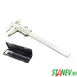 Штангенциркуль механический в футляре 0-150 мм 1-100
