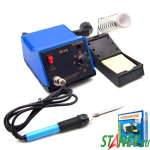 Паяльная станция паяльник с регулировкой мощности ZD-919 STANdart luxe 1-5