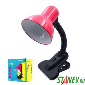 Настольный светильник ШКОЛЬНИК на прищепке 4-е цвета Смарт 1-30