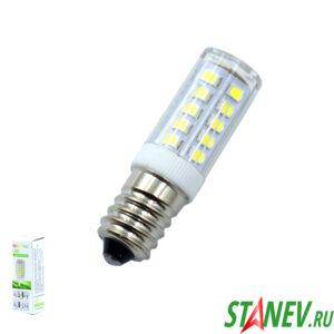 Лампа LED для бытовой техники и люстр светодиодная Е14 5Вт КУКУРУЗА 10-100