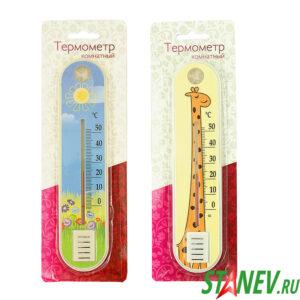 Термометр комнатный бытовой П2 детский БЭБИ 1-100
