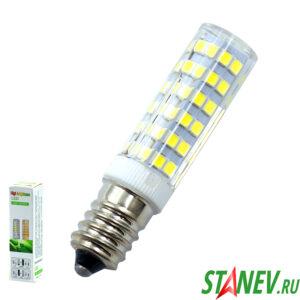 Лампа LED для бытовой техники и люстр светодиодная Е14 7Вт КУКУРУЗА 10-100