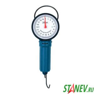 Весы безмен механические круглые 20 кг 10-200