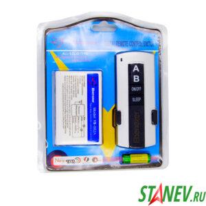 Пульт с контроллером управления светом 2 канала дистанционный выключатель ПДУ-2 1-50