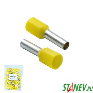 Втулочный наконечник НШВИ 6,0 желтый 100-1000
