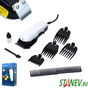 Машинка для стрижки волос HTC CT-7107 8Вт белый от сети 1-24