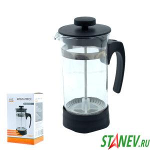 Френч-пресс для кофе и чая 0.35л FR-035-015 irit 1-36
