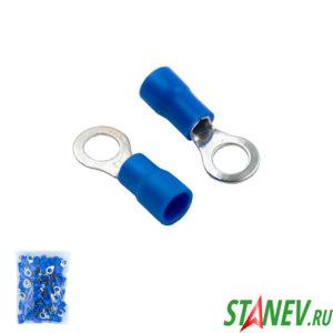 Наконечник кольцевой НКИ 2,5-4 синий 100-1000