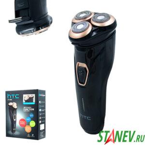 Бритва электрическая HTC GT-606A золотой 3Вт аккумулятор 1-40