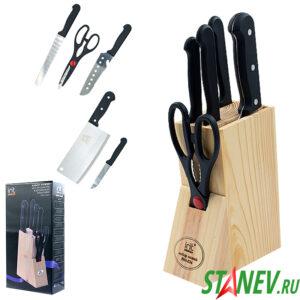 Набор ножей в деревянной подставке IRH-534 irit 1-20
