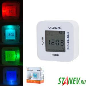 Часы-будильник электронные перевертыш IR-609 irit 1-100