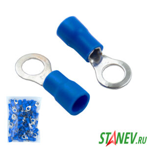 Наконечник кольцевой НКИ 2,5-6 синий 100-1000