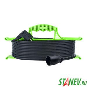Удлинитель силовой на рамке СПЕЦ 10 м 1 розетка ПВС 2х1.5 1-10