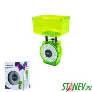 Весы кухонные механические HS-3004M 1кг Homestar 1-20