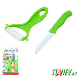 Нож и Овощечистка набор 2во1 IRH-536 irit 10-200