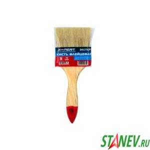 Кисть флейцевая 75 мм плоская 3 дюйма X-PERT 12-504