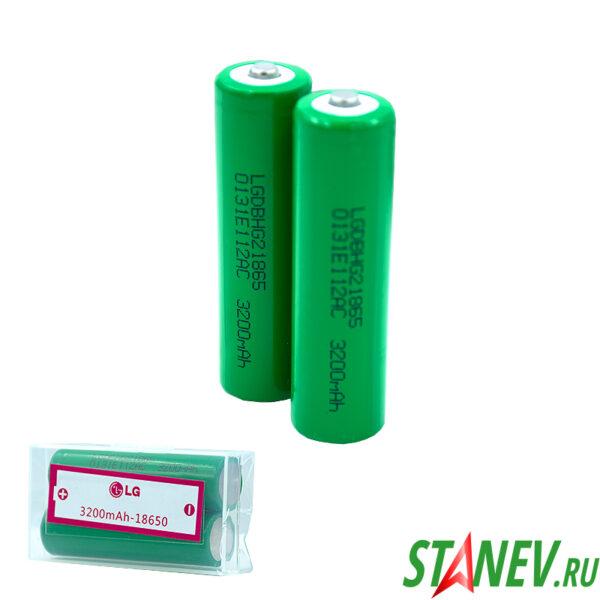 Аккумулятор 18650 3.7V 3200mA  Li-Ion под LG 2-10